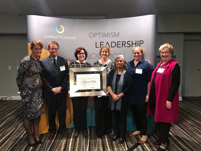 Parents for Community Living Wins Governance Excellence Award